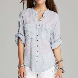 """FREE PEOPLE """"put your back into it"""" shirt"""